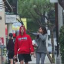 Selena Gomez and Justin Bieber – Goes for a walk in LA