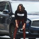 Nina Dobrev – Working Out at The Dogpound Gym in New York City - 454 x 568