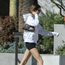 Kendall Jenner – Leaving Cha Cha Matcha in West Hollywood