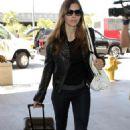 Jessica Biel - LAX Airport 5/29/10