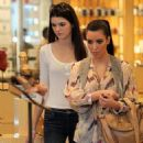 Kendall Jenner shopping at Barneys of New York in Beverly Hills (January 28)