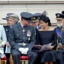 Prince Harry Windsor and Meghan Markle Attend Events To Mark The Centenary Of The RAF - 435 x 600