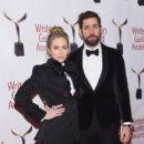 Emily Blunt and John Krasinski :  71st Annual Writers Guild Awards - New York Ceremony - 409 x 600