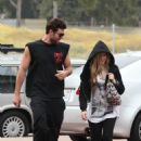Avril Lavigne - Has Lunch In Malibu, 2010-05-16