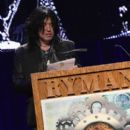 Tom Keifer of the band Cinderella presents the award for Talent Buyer of the Year at the 26th Annual Pollstar Awards at Ryman Auditorium on February 21, 2015 in Nashville, Tennessee