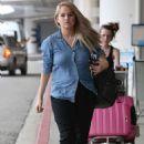 Debby Ryan Lax Airport In Los Angeles