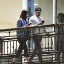 Camila Morrone and Leonardo DiCaprio – Out and about in West Hollywood - 454 x 493