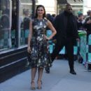 Morena Baccarin at AOL Build Speaker Series in New York - 454 x 303