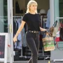 Miley Cyrus in Black Jeans – Out and about in Los Feliz