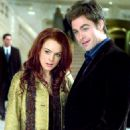 Lindsay Lohan and Chris Pine