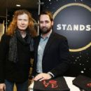 Dave Mustaine attends the GRAMMY Gift Lounge during the 60th Annual GRAMMY Awards at Madison Square Garden on January 27, 2018 in New York City - 454 x 323