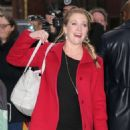 Melissa Joan Hart – Arriving at AOL Build Series in New York - 454 x 681
