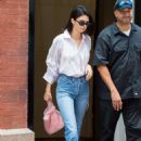 Kendall Jenner in Jeans out and about in NYC