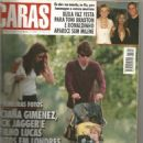 Luciana Gimenez, Mick Jagger & baby son Lucas in Richmond Park - September/2000 - 454 x 624