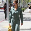 Brooke Burke leaves a salon in Beverly Hills, California on April 25, 2016 - 370 x 600