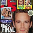 Luke Perry - US Weekly Magazine Cover [United States] (18 March 2019)