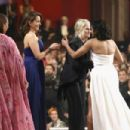 Maya Rudolph, Tina Fey, Amy Poehler and Regina King At The 91st Annual Academy Awards - Show