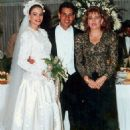 Sofía Vergara and Joe Gonzalez Wedding pic 1991