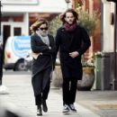 Emma Watson on a lunch date with her mystery boyfriend in London