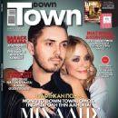 Michalis Hatzigiannis and Zeta Makrypoulia - Down Town Magazine Cover [Cyprus] (27 November 2016)