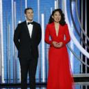 Andy Samberg and Sandra Oh: 76th Annual Golden Globe Awards - 400 x 600