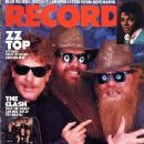 Billy Gibbons, Dusty Hill, Frank Beard - Record Magazine Cover [United Kingdom] (June 1984)