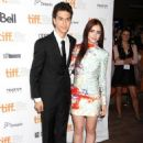 """Lily Collins premiering """"The Writers"""" at TIFF along with Nat Wolff (September 9)"""