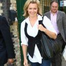 Nell McAndrew - LBC Radio Station In London, 19.06.2008.
