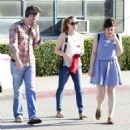 Amy Adams and Darren Le gallo in West Hollywood, California on March 12, 2014