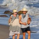 Katy Perry and Orlando Bloom – Seen on a beach in Santa Monica
