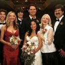 Romi Dames and Jared Grager's wedding - family photo - 454 x 303