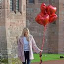 Christine McGuinness – Valentines Day Photoshoot at Peckforton Castle in Cheshire - 454 x 615