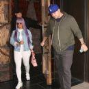 Blac Chyna and Rob Kardashian at TAO in Hollywood, California - April 19, 2017