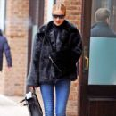 Rosie Huntington Whiteley – Heads out from the Greenwich Hotel in NYC