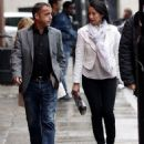 Michael Le Vell and Blanca Fouche - 454 x 524