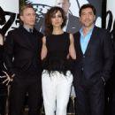 Daniel Craig, Bérénice Marlohe and Javier Bardem - Skyfall Event (2012) - 454 x 683