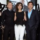 Daniel Craig, Bérénice Marlohe and Javier Bardem - Skyfall Event (2012)