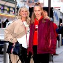 Christie Brinkley with her daughter arriving to the Knicks vs Heat Basketball game in NYC - 454 x 523