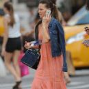 Hilary Swank Out In New York City