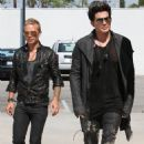 Adam Lambert's Maxfield Shopping Spree with Sauli