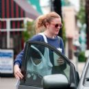Drew Barrymore Street Style Out In Los Angeles