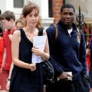 Getting closer: Kate Rothschild's lover, hip-hop star Jay Electronica, has moved into a Kensington flat near to the socialite's marital home