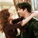 Debra Messing and Harry Connick, Jr.