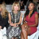 Serena Williams Checks Out Michael Kors Show