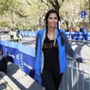 Padma Lakshmi participate in the MORE/SHAPE Women's Half-Marathon on April 17, 2016 in New York City - 454 x 303