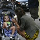Alessandra Ambrosio And Jamie Mazur & Their Daughter Anja Out And About In New York City, June 15 2010