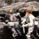Nigel Terry as Arthur and Nicholas Clay as Lancelot in Excalibur (1981) - 454 x 303