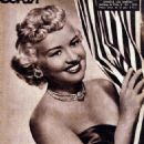 Betty Grable - Ecran Magazine Cover [Chile] (4 July 1950)