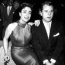 Jackie Cooper and Joan Crawford