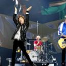 Doing what he does best: Sir Mick Jagger puts on energetic performance in first Rolling Stones gig since death of L'Wren Scott - Oslo, May/2014